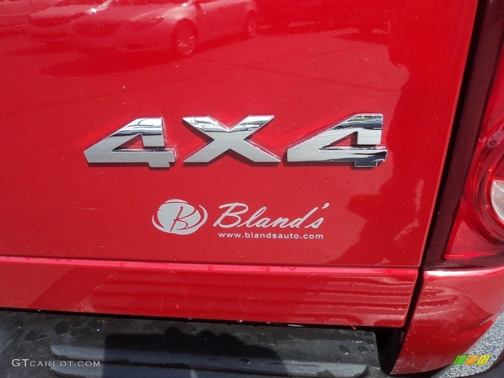 2008 Ram 3500 SLT Quad Cab 4x4 Dually - Inferno Red Crystal Pearl / Medium Slate Gray photo #28