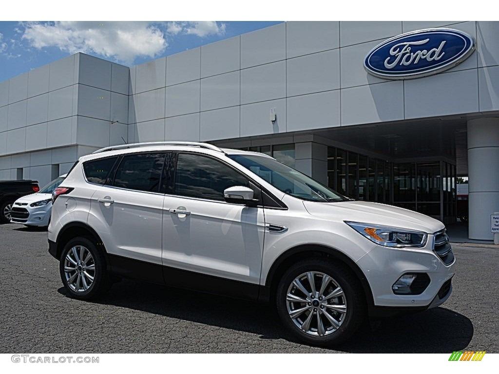 2017 white platinum ford escape titanium 113197376 photo 26 car color galleries. Black Bedroom Furniture Sets. Home Design Ideas