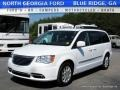 Bright White 2015 Chrysler Town & Country Touring