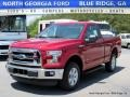 2016 Race Red Ford F150 XLT Regular Cab 4x4  photo #1