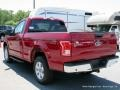 2016 Race Red Ford F150 XLT Regular Cab 4x4  photo #3