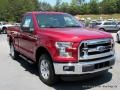 2016 Race Red Ford F150 XLT Regular Cab 4x4  photo #7