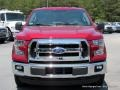 2016 Race Red Ford F150 XLT Regular Cab 4x4  photo #8