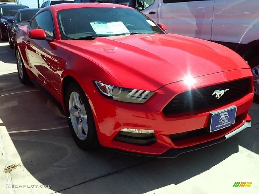 2016 race red ford mustang v6 coupe 113227975 photo 5 car color galleries. Black Bedroom Furniture Sets. Home Design Ideas