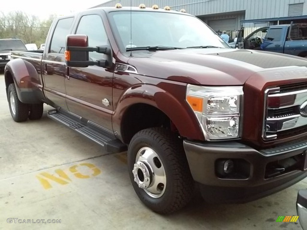 2016 bronze fire metallic ford f350 super duty king ranch crew cab 4x4 drw 113227970 gtcarlot. Black Bedroom Furniture Sets. Home Design Ideas