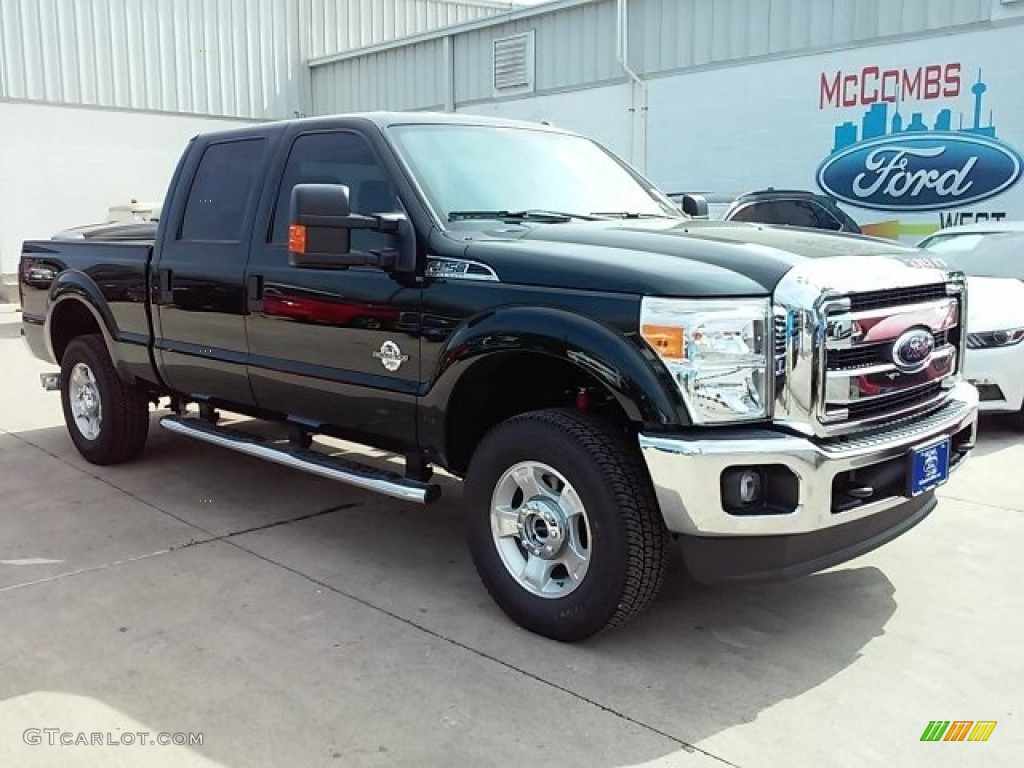 2016 green gem metallic ford f250 super duty xlt crew cab 4x4 113227964 car. Black Bedroom Furniture Sets. Home Design Ideas