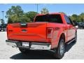 2016 Race Red Ford F150 XLT SuperCrew 4x4  photo #3