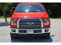 2016 Race Red Ford F150 XLT SuperCrew 4x4  photo #10