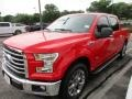 2016 Race Red Ford F150 XLT SuperCrew  photo #2