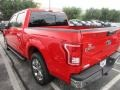2016 Race Red Ford F150 XLT SuperCrew  photo #6