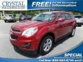Crystal Red Tintcoat 2014 Chevrolet Equinox LT