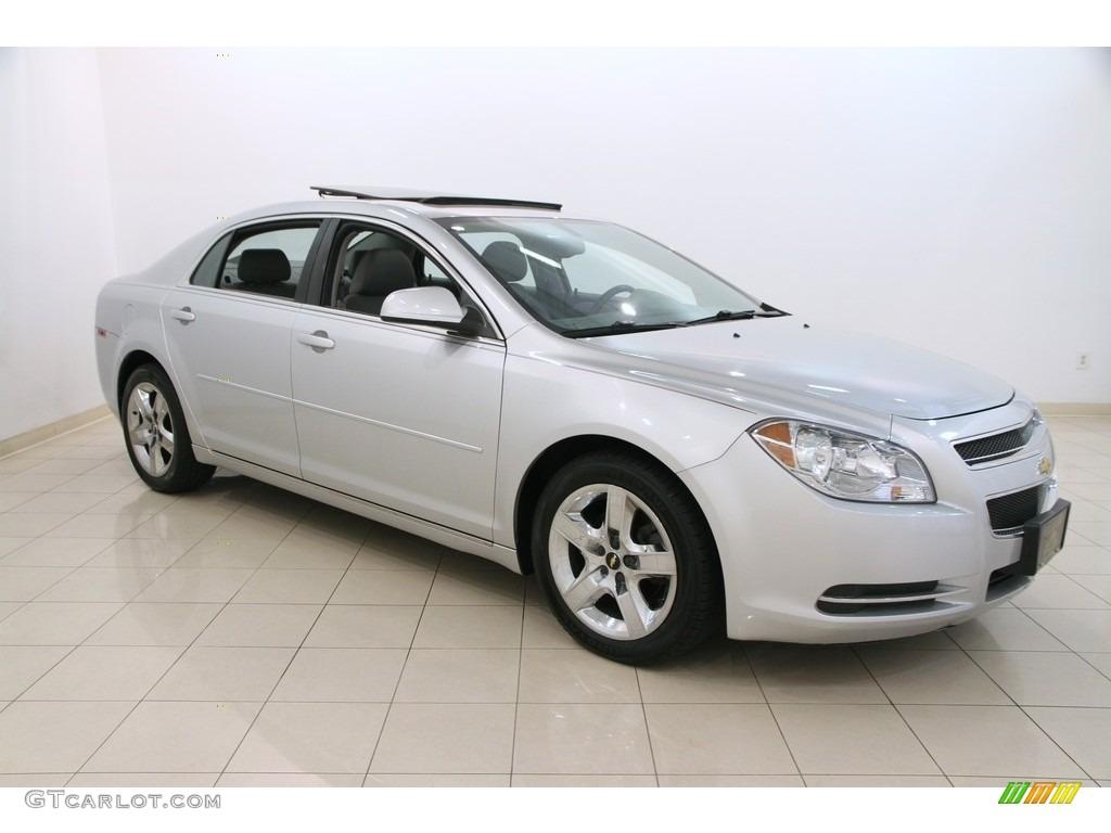 2010 silver ice metallic chevrolet malibu lt sedan - 2010 chevy malibu exterior colors ...