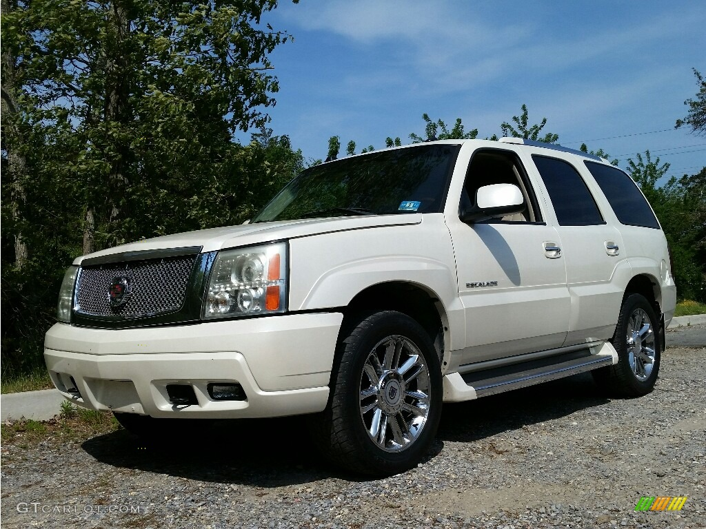2005 white diamond cadillac escalade awd 113260890 photo. Black Bedroom Furniture Sets. Home Design Ideas