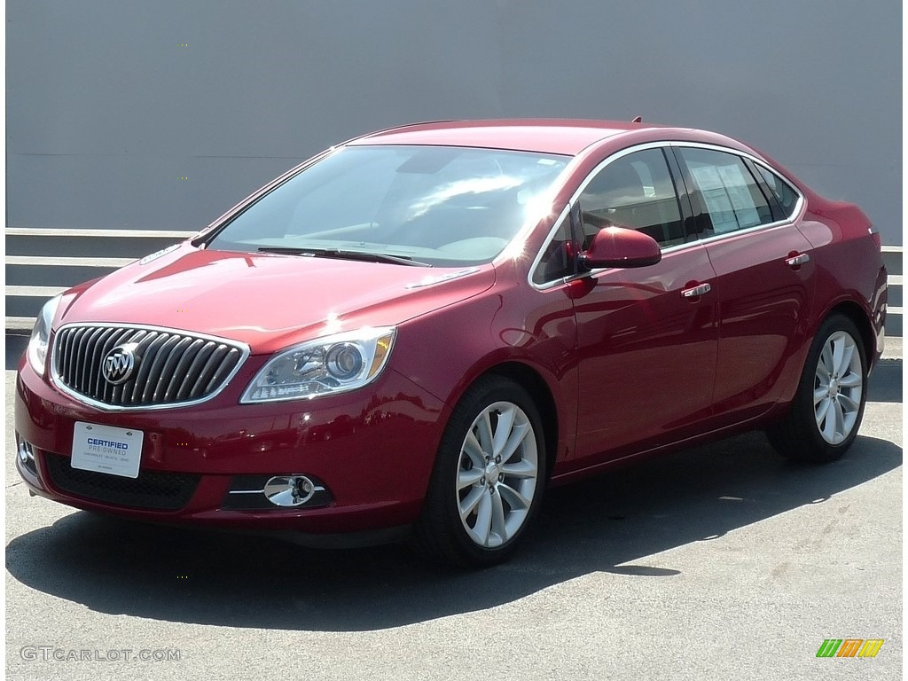 2012 Crystal Red Tintcoat Buick Verano Fwd 113260815
