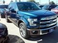 Blue Jeans 2016 Ford F150 King Ranch SuperCrew