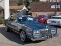 Medium Blue Metallic 1985 Cadillac Eldorado Biarritz Coupe