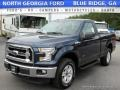 Blue Jeans 2016 Ford F150 XLT Regular Cab 4x4