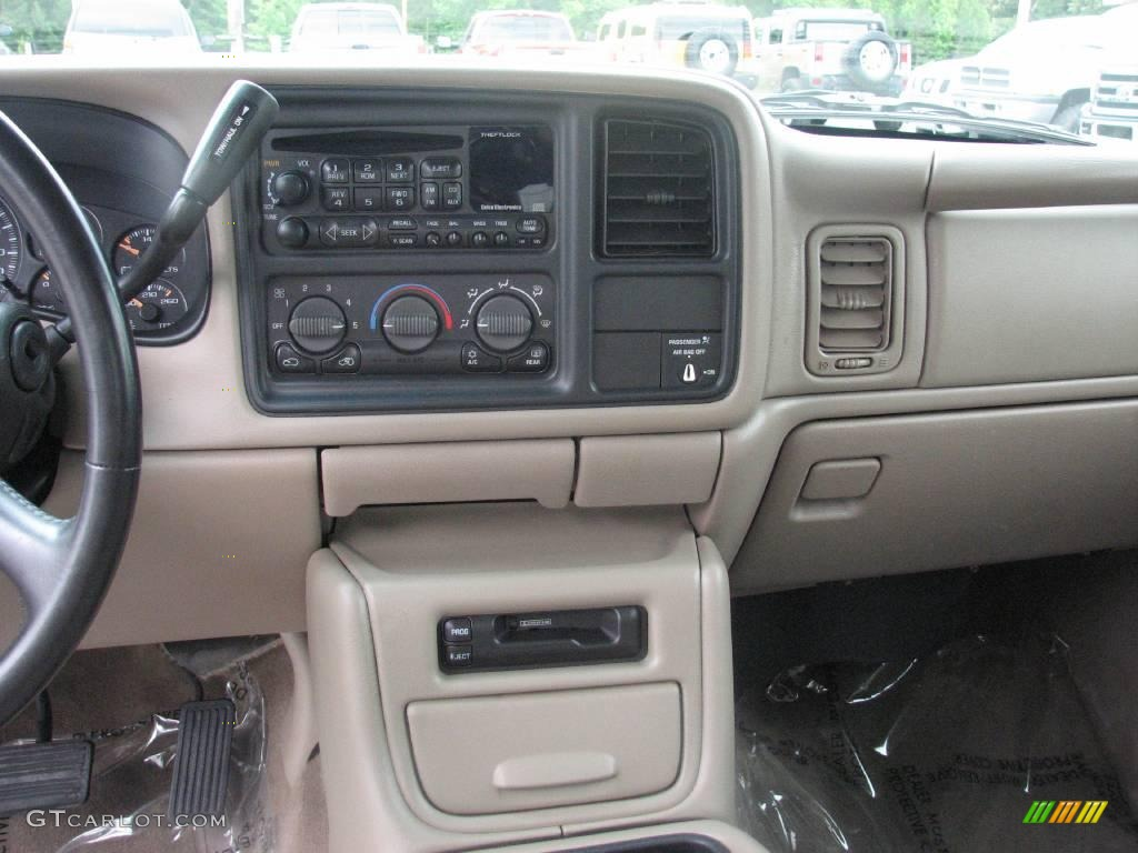 2002 Silverado 1500 LT Extended Cab 4x4 - Onyx Black / Tan photo #12