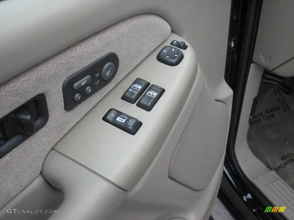 2002 Silverado 1500 LT Extended Cab 4x4 - Onyx Black / Tan photo #16
