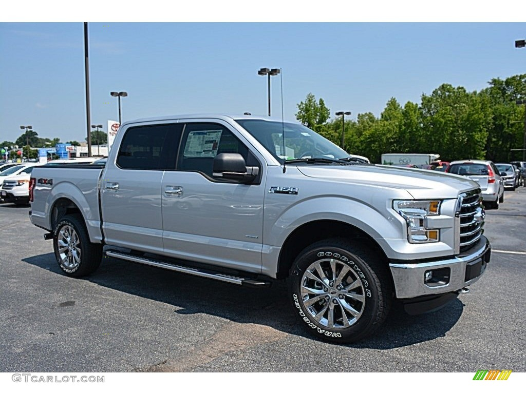 2016 ingot silver ford f150 xlt supercrew 4x4 113296153 car color galleries. Black Bedroom Furniture Sets. Home Design Ideas