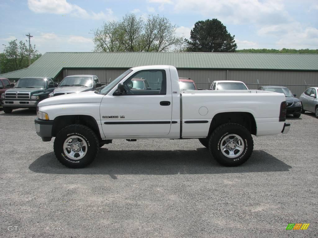 Dodge Ram 1500 2013 White Dodge Ram 1500 Slt Regular Cab