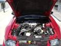 2001 Laser Red Metallic Ford Mustang V6 Coupe  photo #5