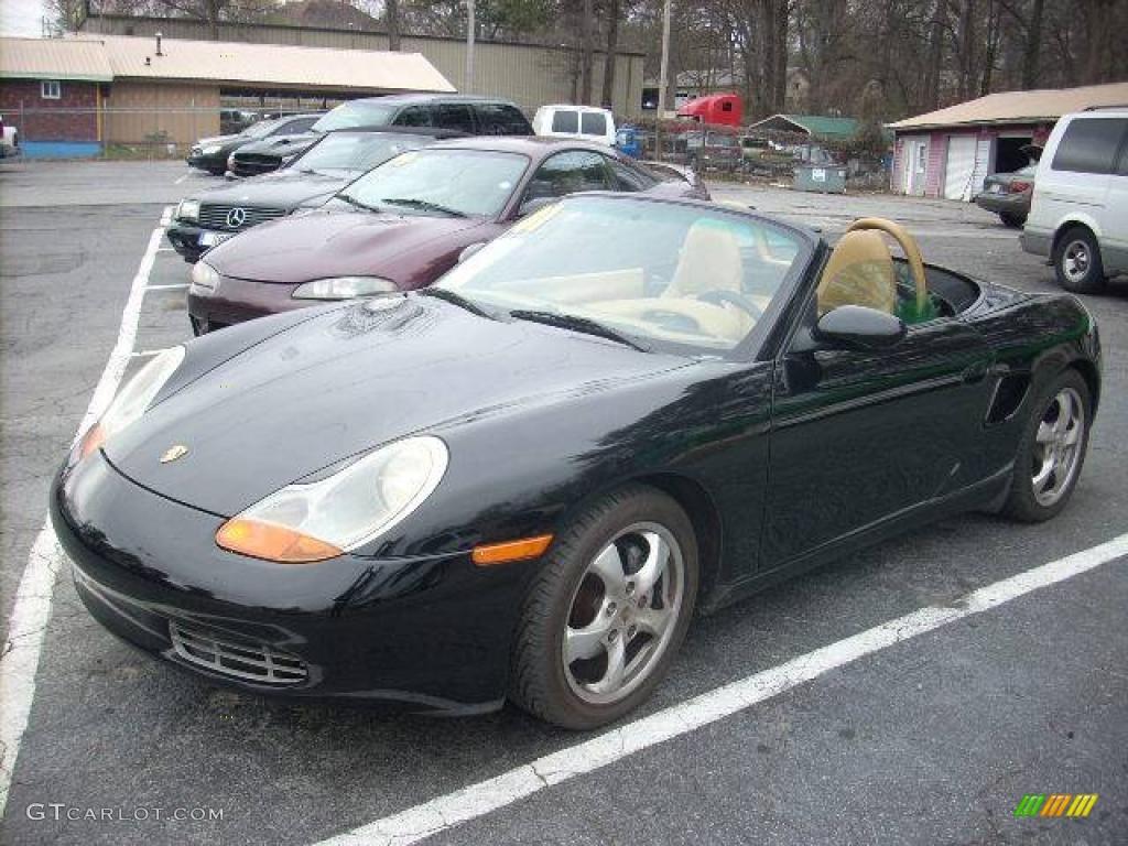 Black Porsche Boxster