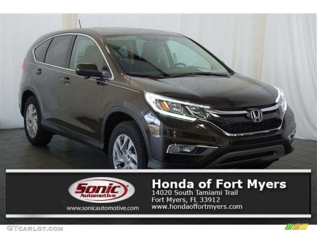 2016 CR-V EX AWD - Kona Coffee Metallic / Black photo #1