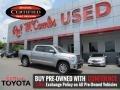 2016 Silver Sky Metallic Toyota Tundra Limited CrewMax  photo #1