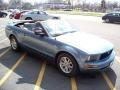 2006 Windveil Blue Metallic Ford Mustang V6 Premium Convertible  photo #3