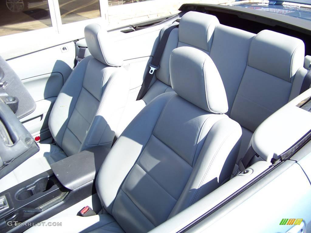 2006 Mustang V6 Premium Convertible - Windveil Blue Metallic / Light Graphite photo #8