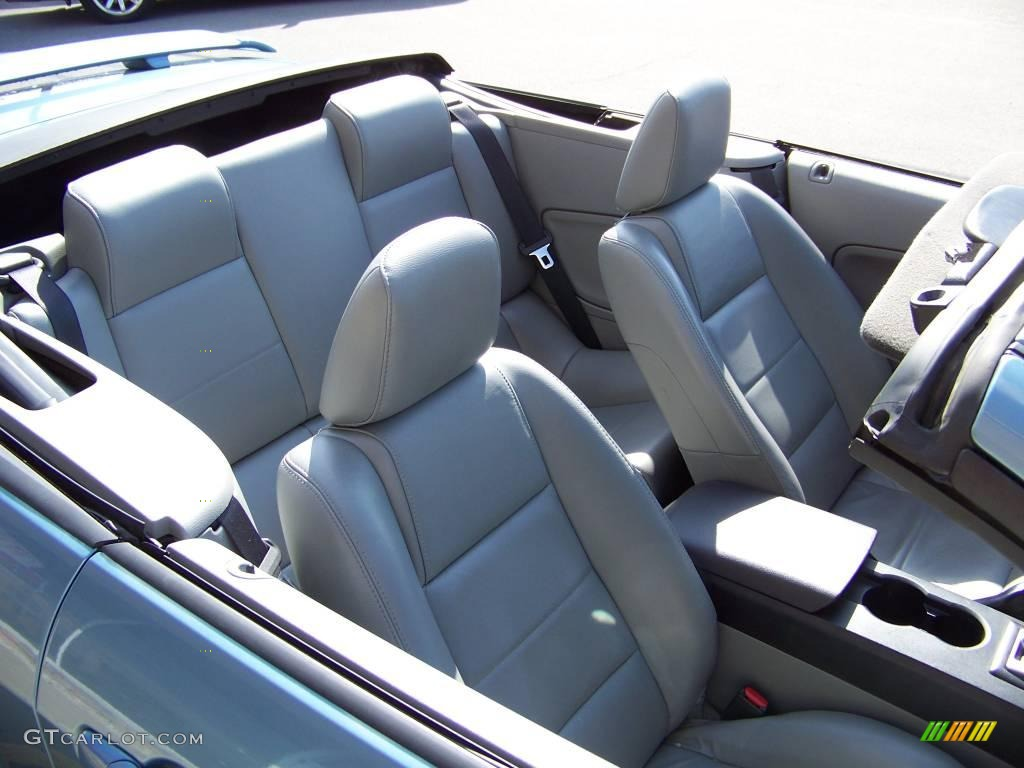 2006 Mustang V6 Premium Convertible - Windveil Blue Metallic / Light Graphite photo #9
