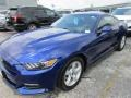 2016 Deep Impact Blue Metallic Ford Mustang V6 Coupe  photo #2