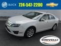 White Suede 2012 Ford Fusion SEL V6