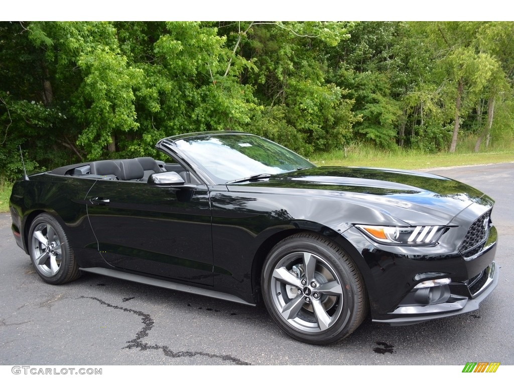 Picture of 1984 ford mustang gt350 exterior - Shadow Black 2016 Ford Mustang V6 Convertible Exterior Photo 113352524