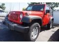 Firecracker Red 2016 Jeep Wrangler Gallery