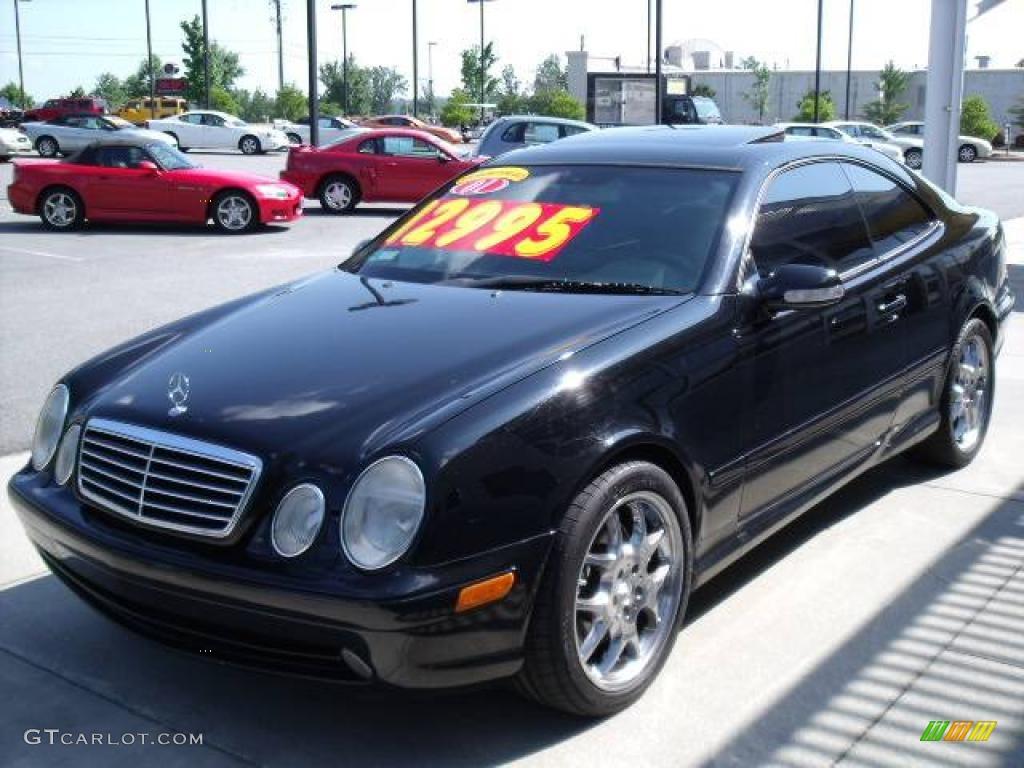 2001 black mercedes benz clk 55 amg coupe 11327279 for Mercedes benz 55