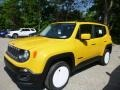 2016 Solar Yellow Jeep Renegade Latitude 4x4  photo #1