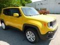 2016 Solar Yellow Jeep Renegade Latitude 4x4  photo #10