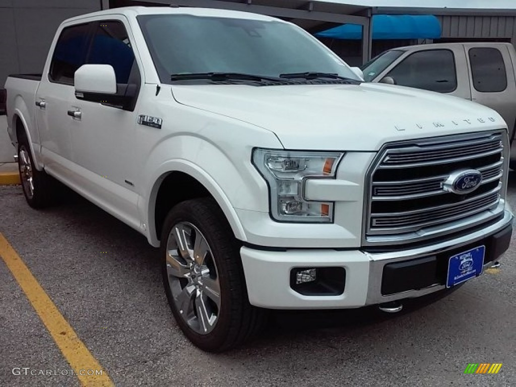 2016 white platinum ford f150 limited supercrew 4x4 113366695 photo 18 car. Black Bedroom Furniture Sets. Home Design Ideas