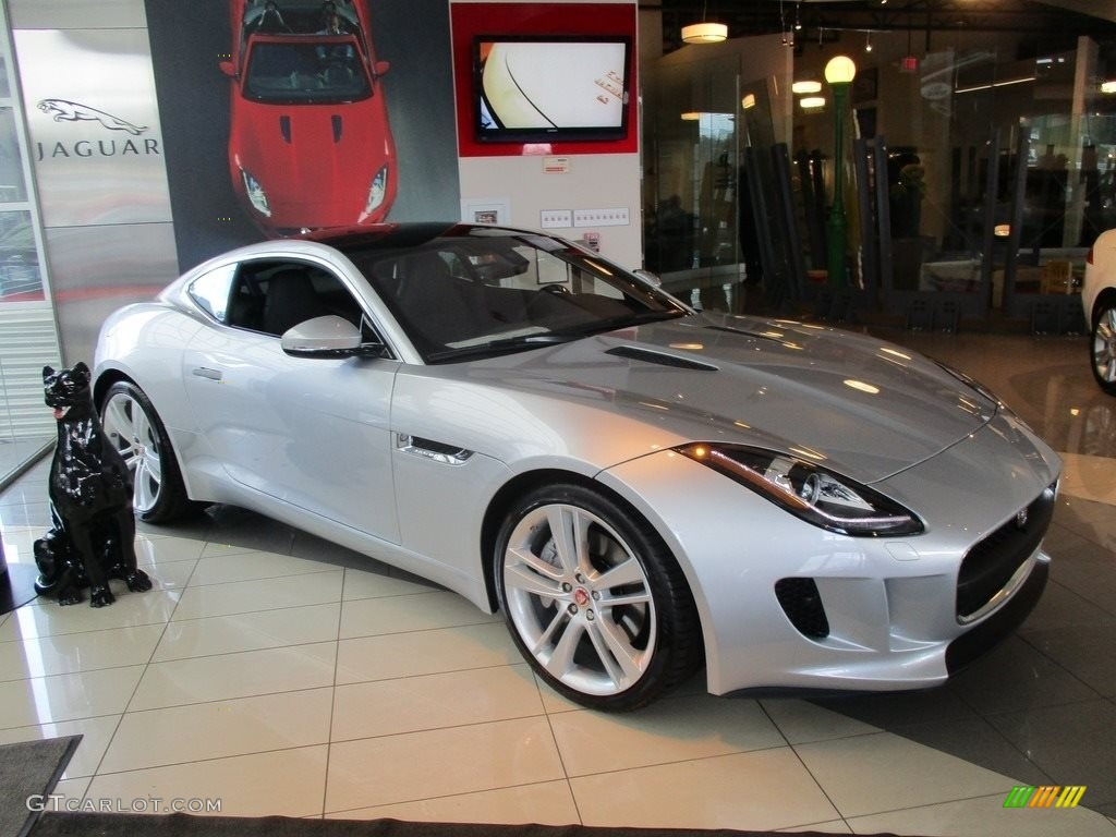 2017 rhodium silver jaguar f type premium coupe 113374781 car color galleries. Black Bedroom Furniture Sets. Home Design Ideas