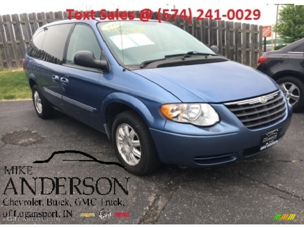 2007 marine blue pearl chrysler town country touring. Black Bedroom Furniture Sets. Home Design Ideas