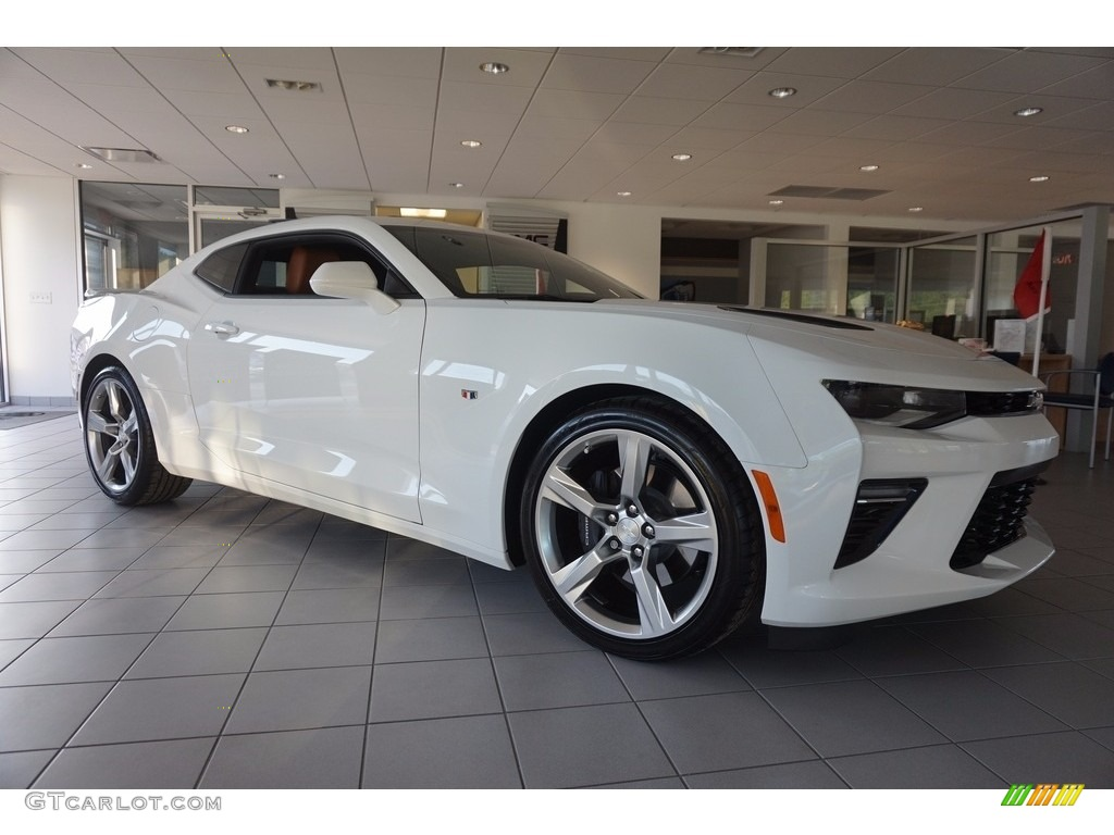 2016 camaro ss coupe summit white kalahari photo 1 - Camaro 2016 Ss White
