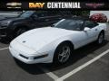 Arctic White 1996 Chevrolet Corvette Convertible