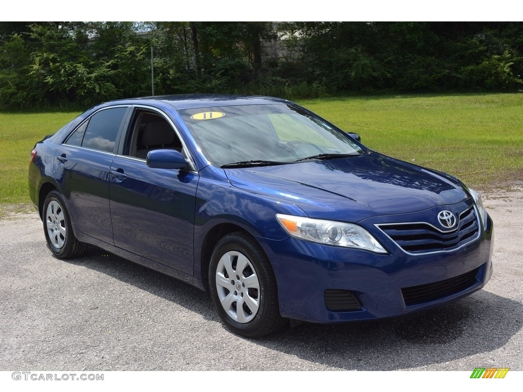 2011 Blue Ribbon Metallic Toyota Camry Se 113420319 Gtcarlot Com Car Color Galleries
