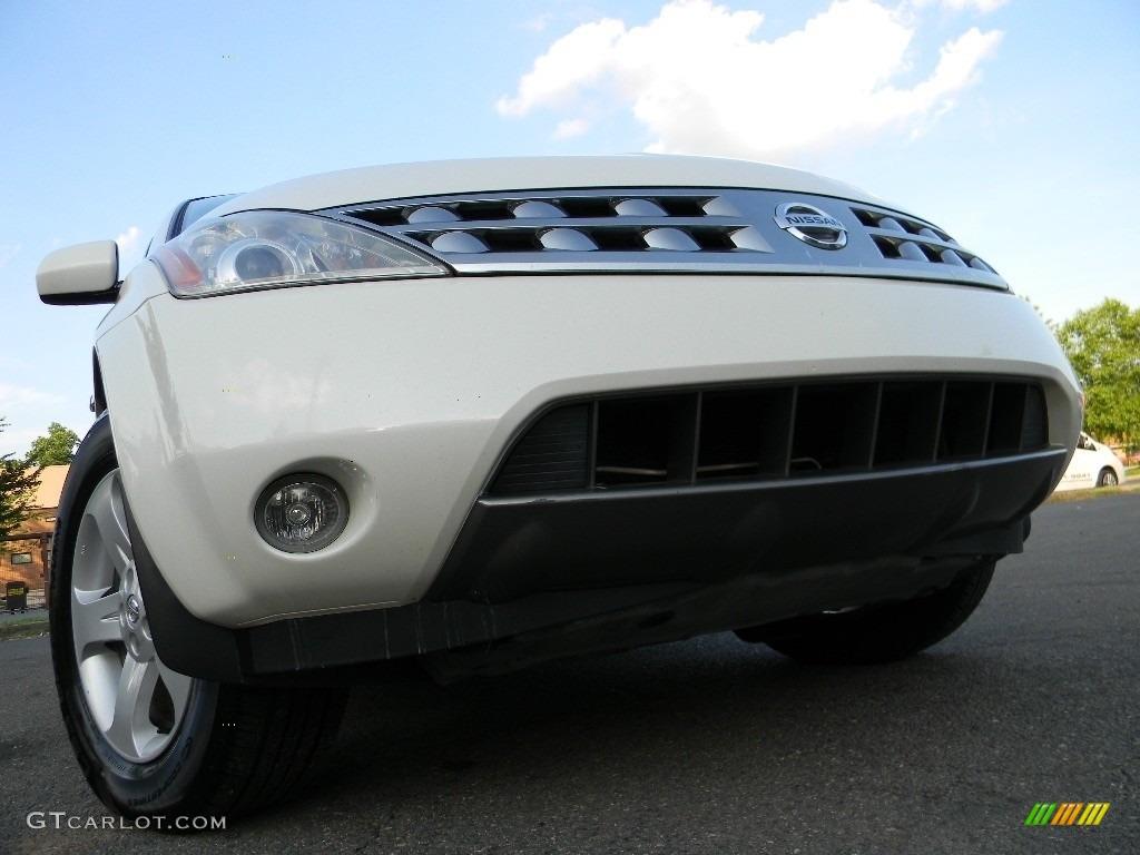 Glacier Pearl White Nissan Murano