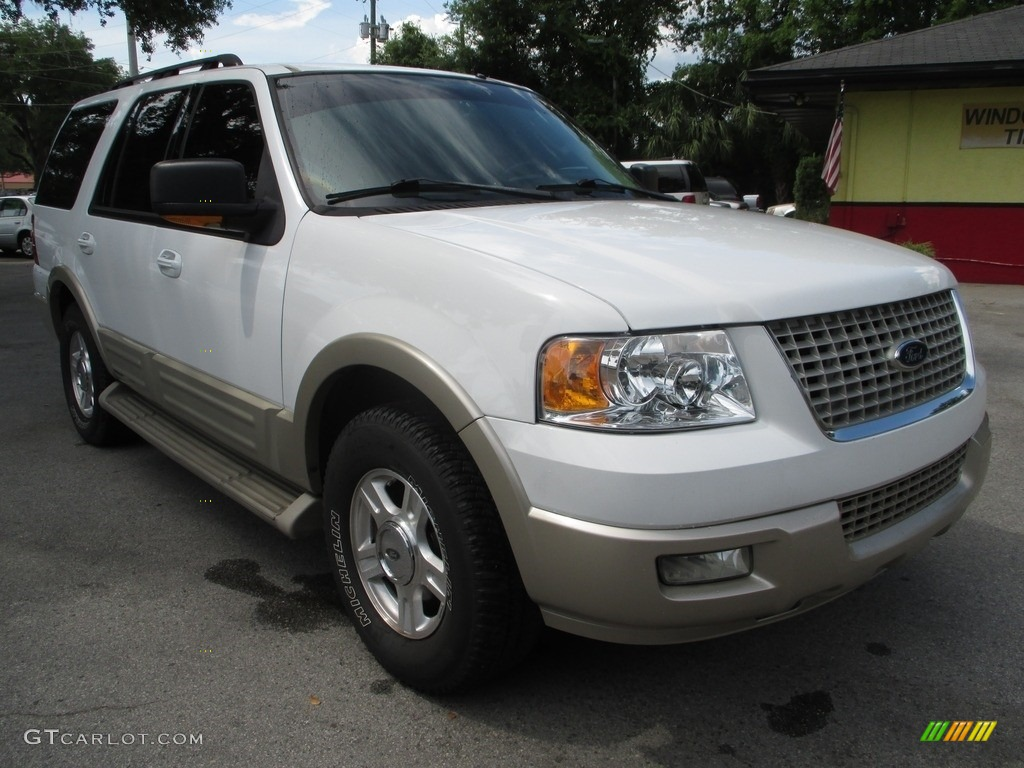 2005 Oxford White Ford Expedition Eddie Bauer 113452433 Car Color Galleries