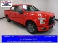 2016 Race Red Ford F150 XLT SuperCrew  photo #1