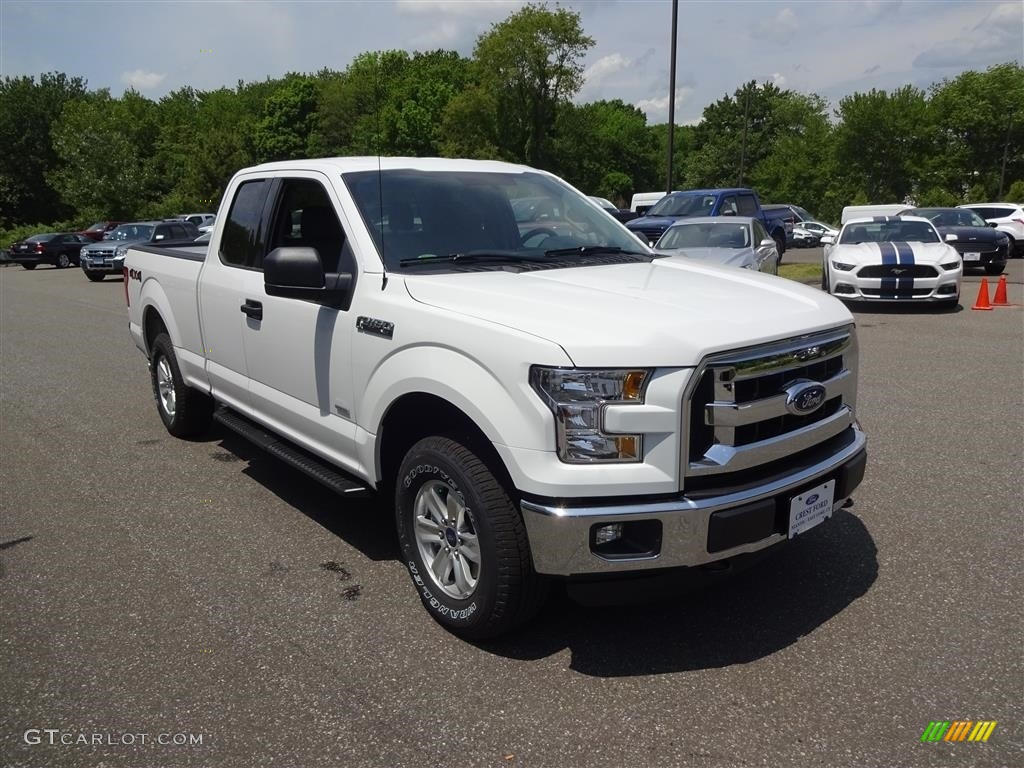 2016 oxford white ford f150 xlt supercab 4x4 113488258 car color galleries. Black Bedroom Furniture Sets. Home Design Ideas