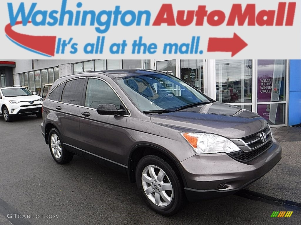 2011 CR-V SE 4WD - Urban Titanium Metallic / Black photo #1